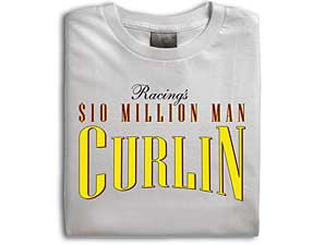 Curlin T-Shirts Available at Belmont