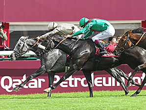Dalkala wins the Prix de l'Opera Longines (Fr-I) thriller Oct. 6 at Longchamp.
