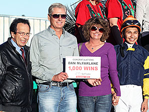 McFarlane Notches 1,000th Win