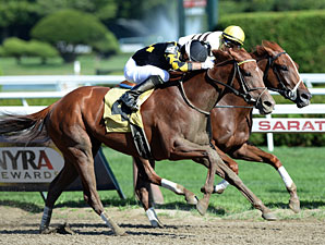 Dance to Bristol wins the Honorable Miss Stakes.