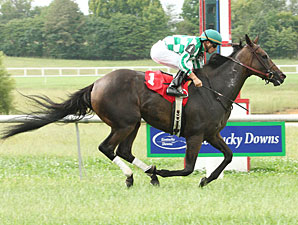 Danzon wins the 2009 Kentucky Cup Ladies Turf.