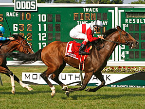 Data Link Connects in Time in Monmouth Stakes