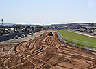 Del Mar's Switch to Dirt Nearly Complete