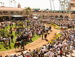 Del Mar Opening  Week On-Track Business Up