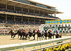 Del Mar Attendance Up, Wagering Down