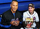 Desormeaux Pitches Belmont to Mets Fans