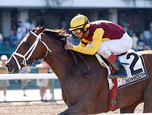 Discreetly Mine wins the 2010 Jersey Shore.