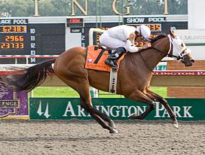 Catalano Sweeps 2YO Stakes at Arlington