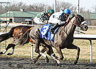 Don't Leave Me Flies Late in Bourbonette Win
