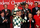 Whyte Claims Jockey Championship
