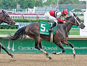 Dubai Majesty wins the 2009 Winning Colors.