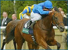 Godolphin's Dubawi Wins National Stakes