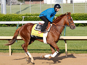 Dullahan - Churchill Downs, April 26, 2012.