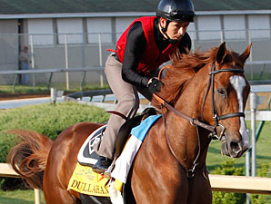 Dullahan works at Churchill Downs 4/22/2012