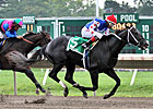 Dunkin Bend Prevails in Sapling Stakes