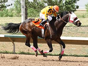 E F Five wins the Aspen Stakes.