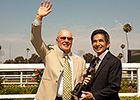 Del Mar Gives Laffit Pincay Award New Home