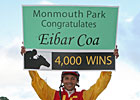 Jockey Eibar Coa Rides 4,000th Winner