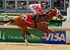 Elite Squadron Takes Wing in CD Stakes