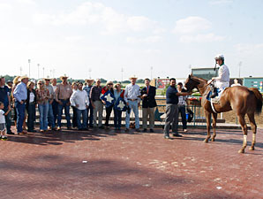Endorsement wins the 2012 Texas Mile.