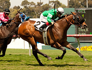 Apprentice Flores Gets First Win