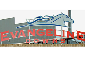 Evangeline Downs' 2012 Handle Rises