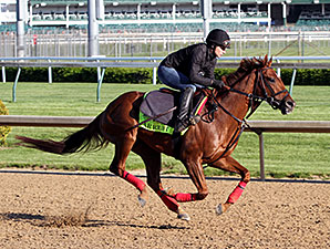Far Right - Churchill Downs, April 28, 2015.