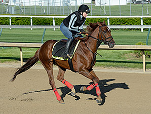 Far Right at Churchill Downs 4.27.15.