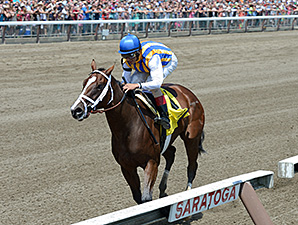 Fashion Alert wins the 2014 Schuylerville at Saratoga.