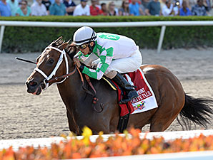Favorite Tale wins the Smile Sprint.