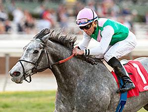 Filimbi wins the Goldikova Stakes.