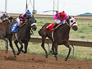 Finewineatnine wins the 2013 CTBA Derby.