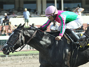 First Passage wins the 2010 U Can Do It Stakes.