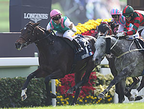 Flintshire wins the Hong Kong Vase.