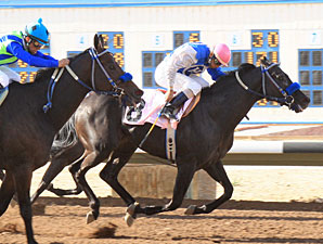 Forest Mouse wins the San Juan County Commissioners Handicap.