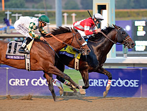 Fort Larned wins the Breeders' Cup Classic.