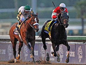 Fort Larned in the Breeders' Cup Classic.