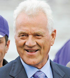 Stronach to Receive Award from TRF