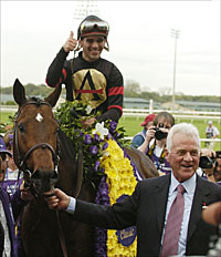 Stronach Says Ghostzapper to Race in 2005