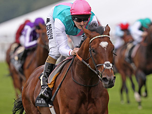 Frankel wins the Queen Anne Stakes.