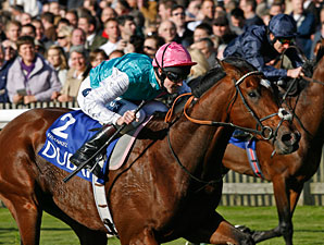 Frankel wins the 2010 Dewhurst.