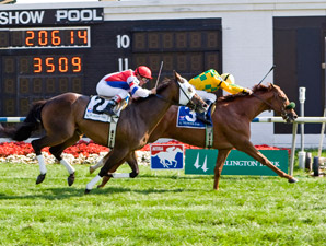 Free Fighter Outfights Brass Hat at Arlington