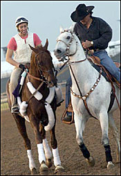 Funny Cide, Pleasantly Perfect, Birdstone Early Classic Favorites