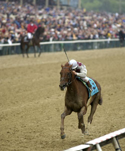 Funny Cide Dealing With Soreness Issues