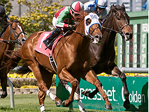 G. G. Ryder wins the San Francisco Mile.