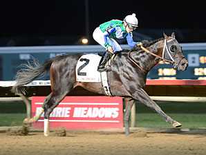 Gentlemen's Bet wins the 2013 Iowa Sprint Handicap.