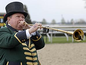Bugler Bucky Sallee Retires from Keeneland