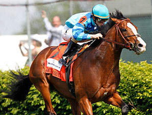 Grade I Winner Get Stormy Drops for Monmouth