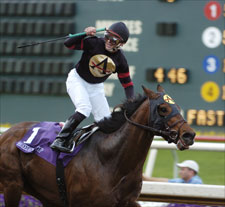 Ghostzapper Sick, to Miss Oaklawn Handicap