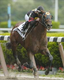 Ghostzapper Covers First Mare
